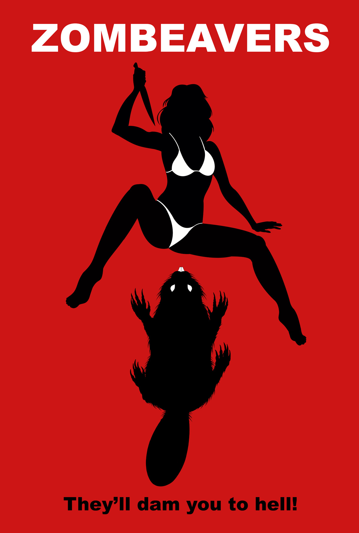 Zombeavers Poster Addicted To Horror Movies
