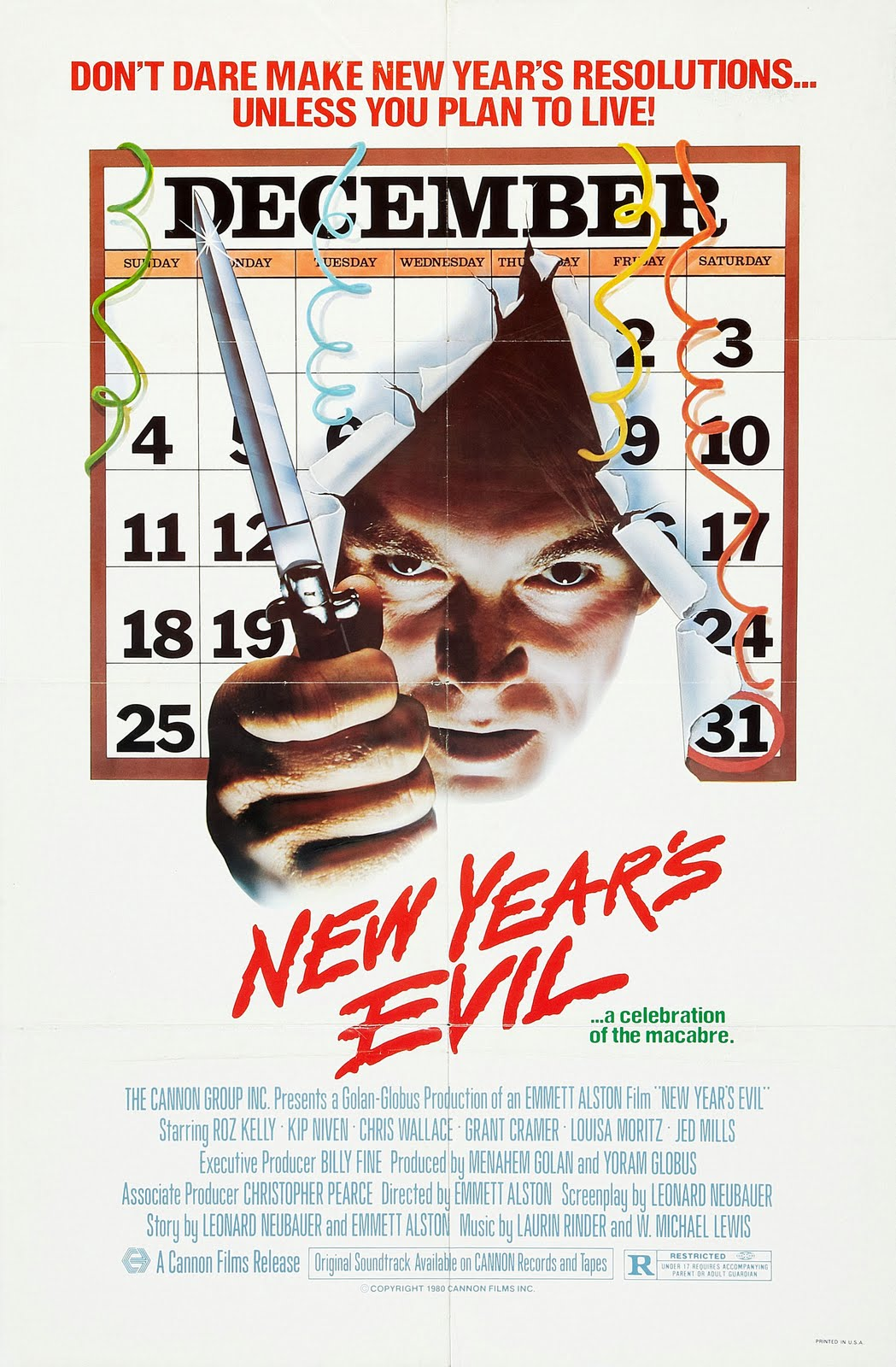 'New Year's Evil' is Not Very Scary, but Loads of Fun ...