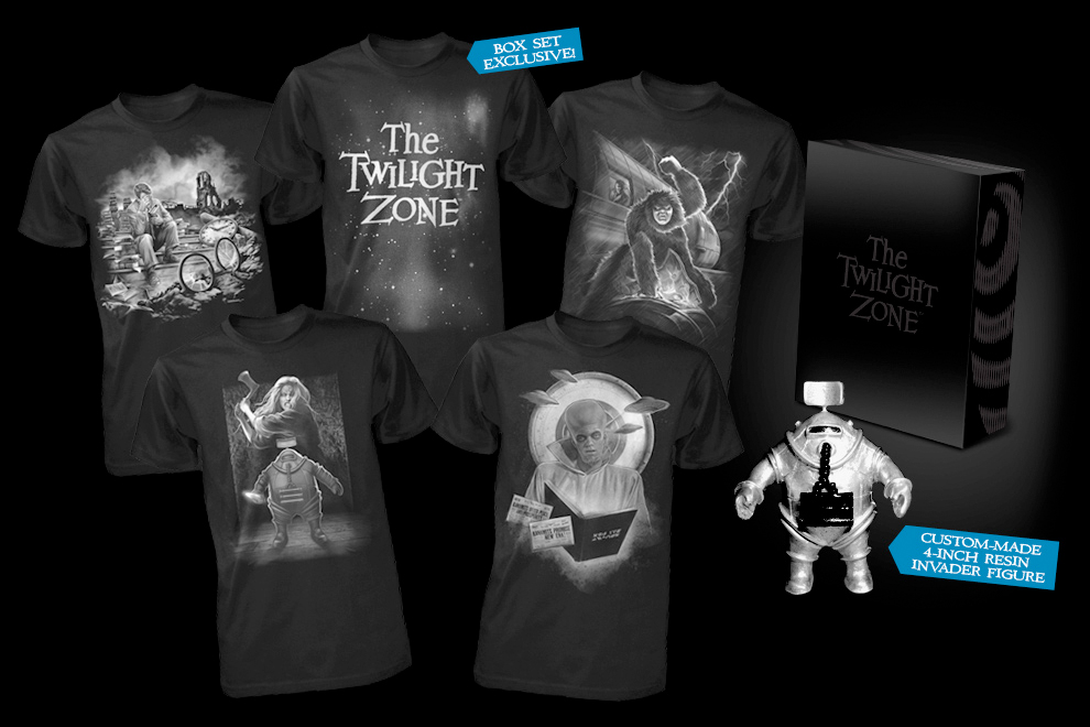 Fright-Rags Enters 'The Twilight Zone' with New Shirts & Box