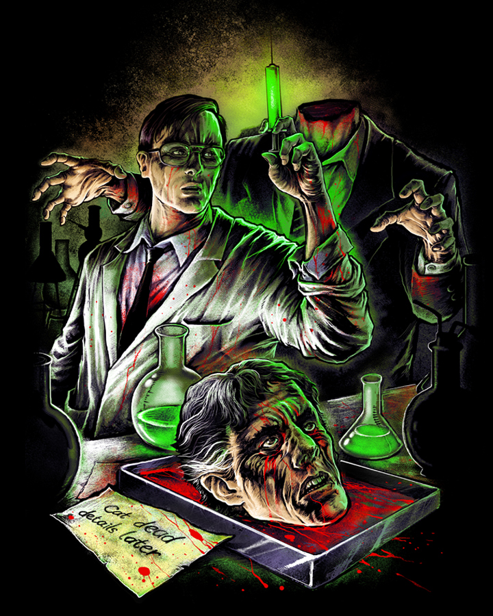 Fright Rags Unleashes Killer New Re Animator Shirt