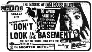 dont look in the basement 1973 poster
