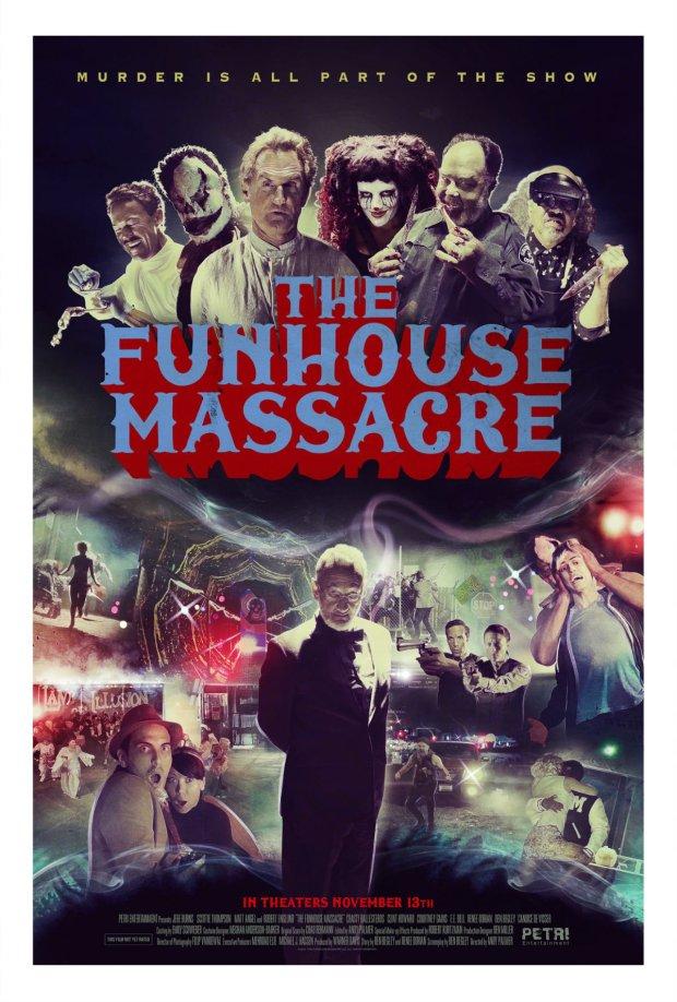 Funhouse Massacre Movie Poster