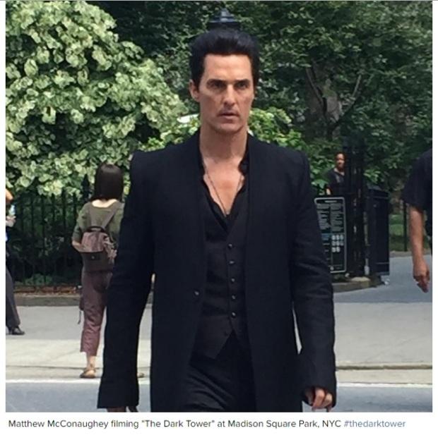 Matthew as the Man in Black