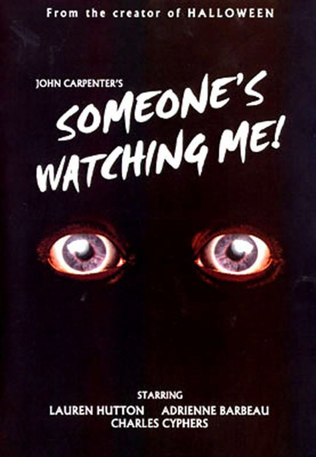 someones watching me poster