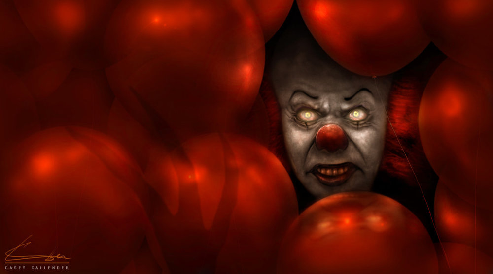 Pennywise The Clown Finally Stalks Blu Ray In Stephen Kings It