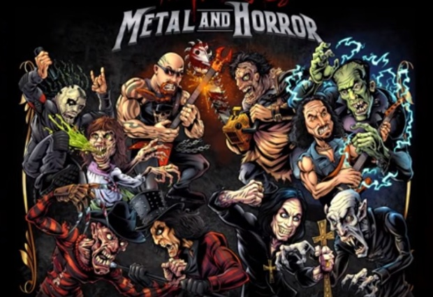 metal and horror
