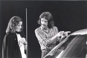 John Carpenter on the set of Halloween