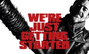 Negan from The Walking Dead Season 7
