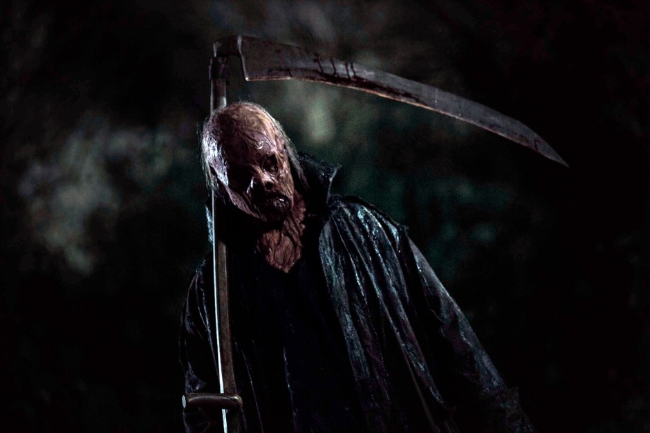 picture from the horror film The Windmill