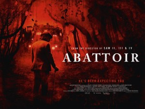 poster for horror movie Abattoir