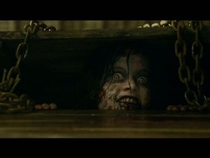 image fromt he horror movie Evil Dead