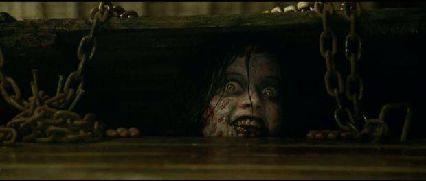 image fromt he horror movie Evil Dead