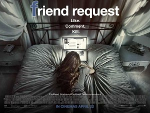 poster for horror movie Friend Request