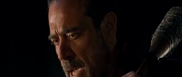 Negan uncensored in The Walking Dead