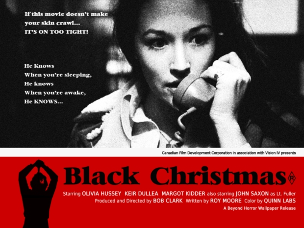 Black Christmas movie poster