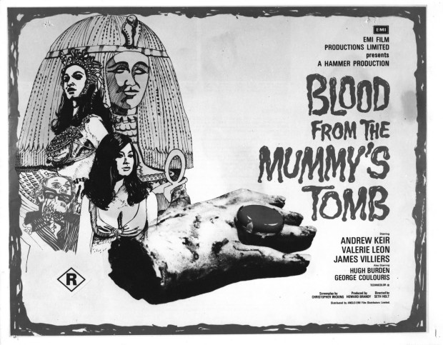 Blood from the Mummy's Tomb movie