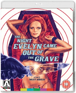 The Night Evelyn Came Home Blu-ray Cover