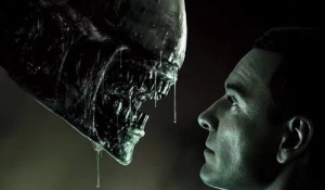 Alien: Covenant - Alien versus David