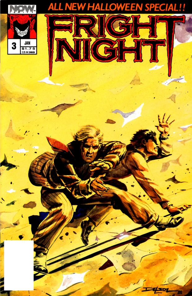 Fright Night Comic issue 3 cover