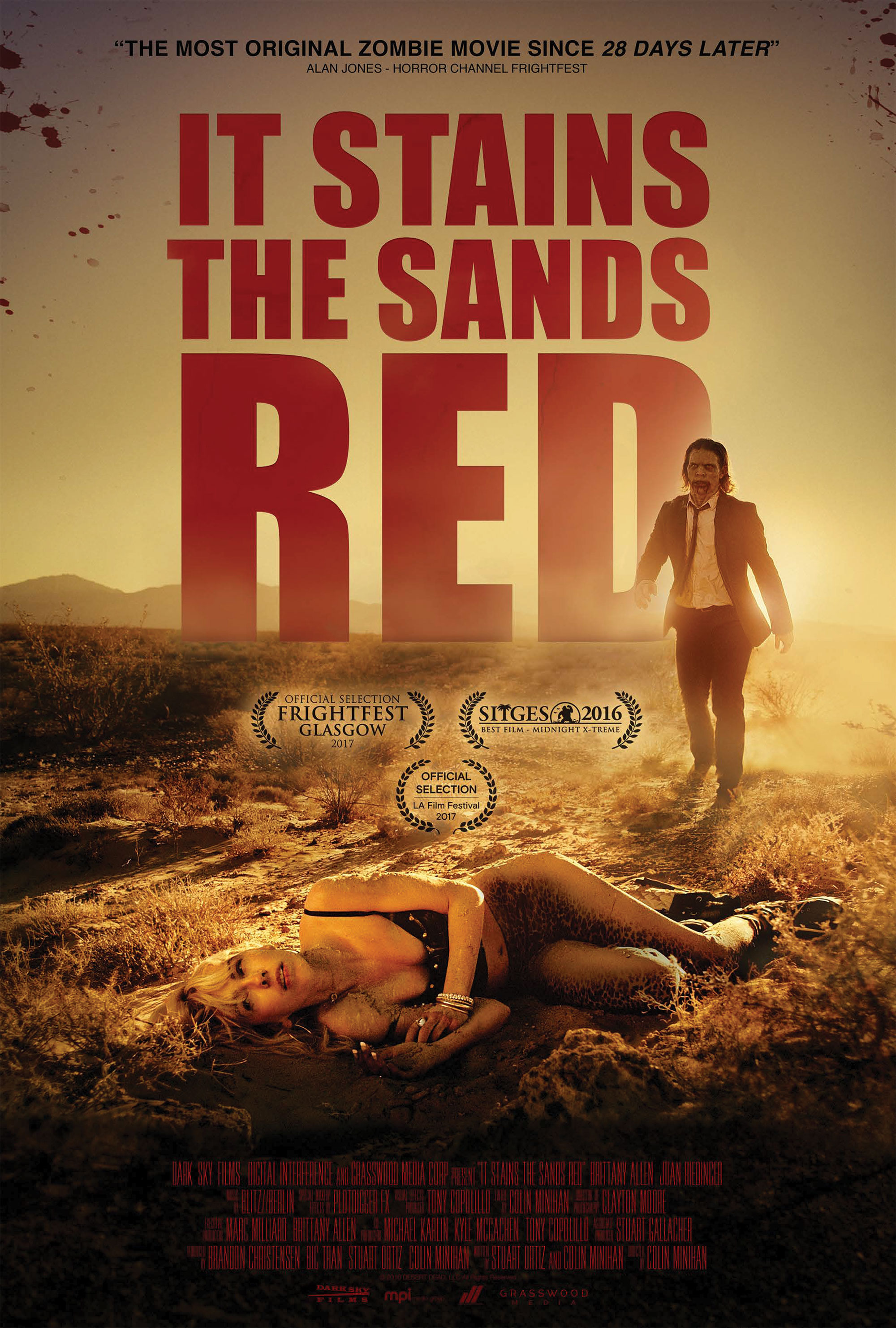 It Stains The Sand Red