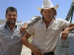 Kevin Bacon and Tremors