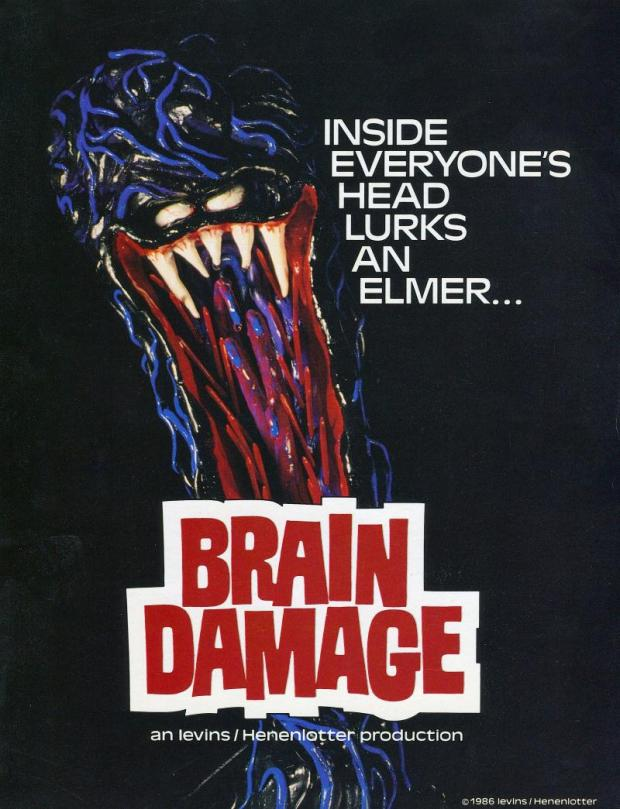 Brain Damage Poster 1988