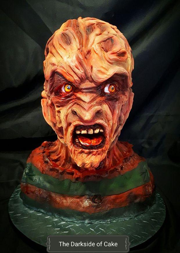Freddy Krueger Cake