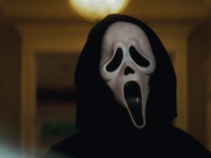 Ghostface from the Scream films