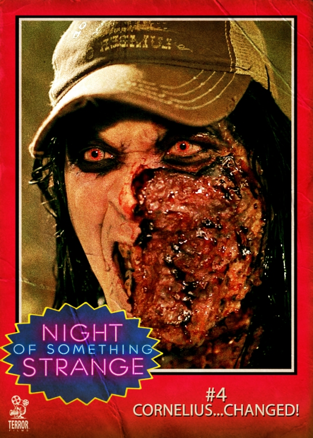 Night of Something Strange Trading Card CORNELIUS…CHANGED!