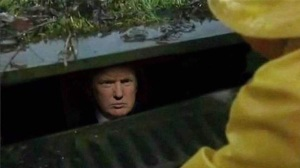 President Trump as Pennywise