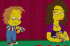 Chucky and Jennifer Tilly in The Simpsons