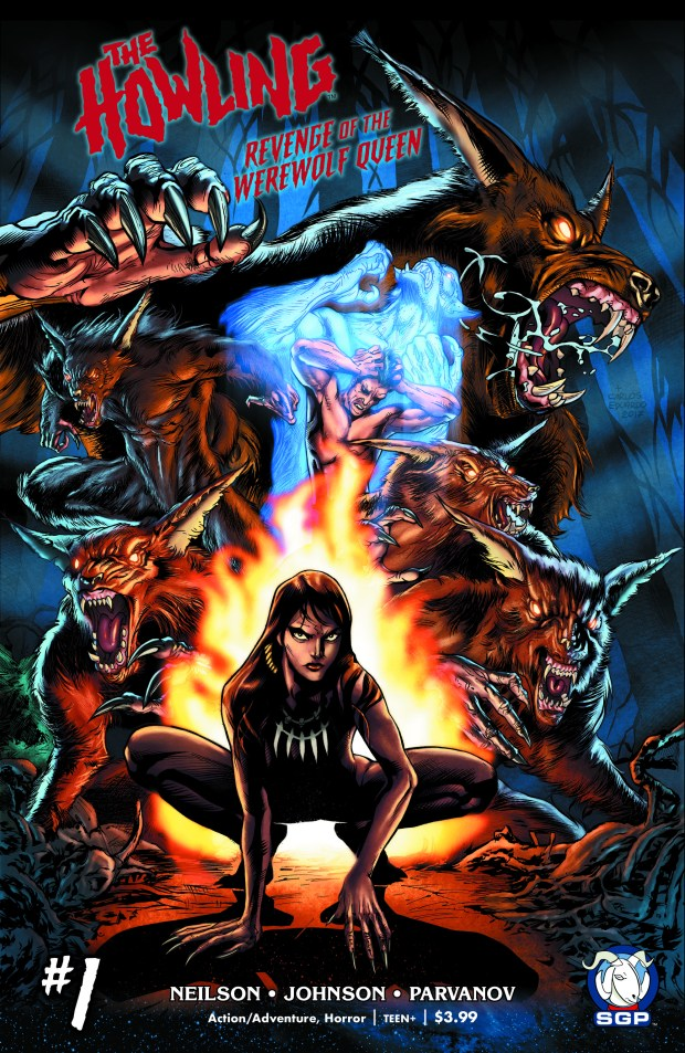 The Howling: REvenge of the Werewolf Queen #1