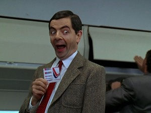 Mr. Bean goes horror