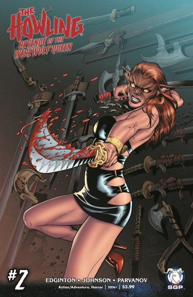 The Howling Revenge of the Werewolf Queen #2 Cover